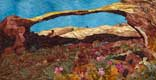 Gallery of Original Landscape Art Quilt Arch in Time